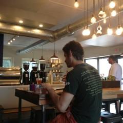 The new Phoenix Coffee in Ohio City -- for now, great for taking refuge